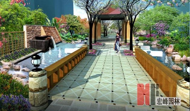 桂林市湖光山色小区景观设计