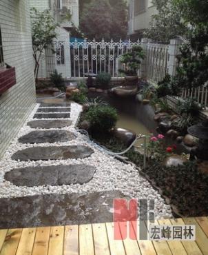 庭院鱼池设计