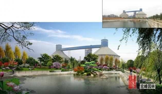 贺州市昭平县华润水泥厂景观改造方案