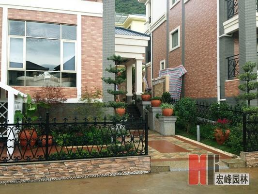 贺州中华园别墅庭院设计