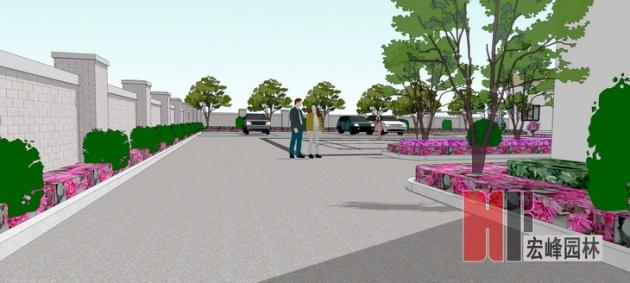 平乐县沙子镇邮政支局后院改造方案