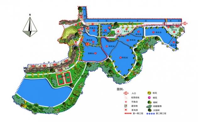 伟德国际1964市莲花山庄景观设计
