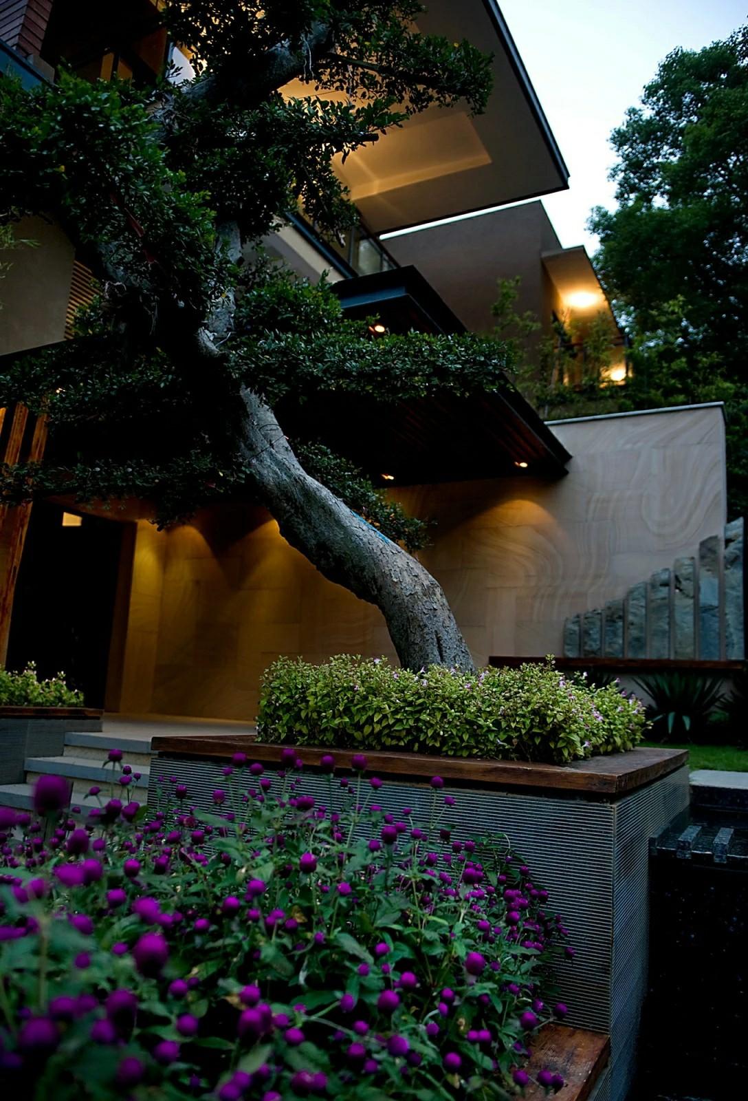 长沙湘江一号景观案例桂林园林设计欣赏